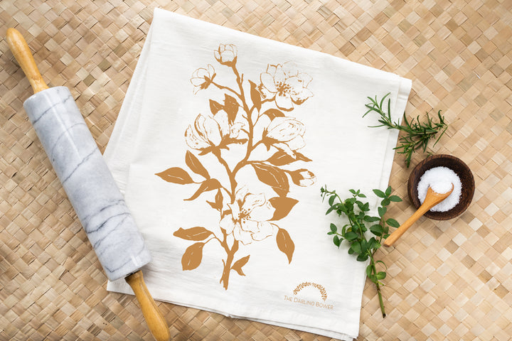 Tea Towel - Clover Market