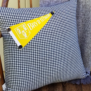 Vintage Bryn Mawr Pillow - Exclusive