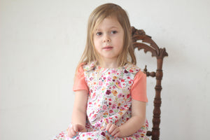Spring Birds Reversible Dress