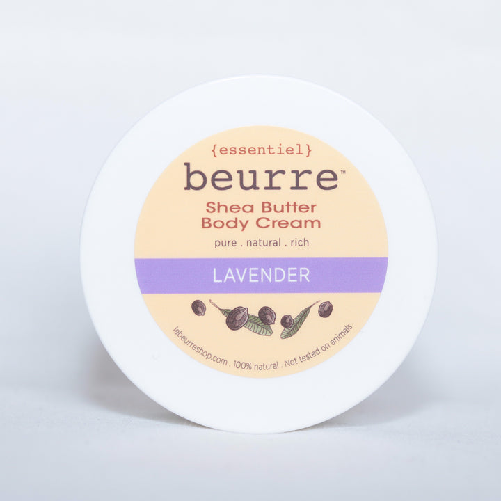 Shea Butter Body Cream - Lavender (1oz) - Clover Market