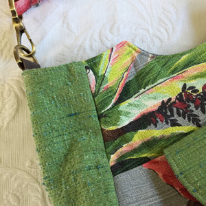 Vintage Barkcloth Purse - One of a Kind