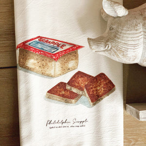 Philly Scrapple Flour Sack Towel - Clover Market