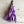 Load image into Gallery viewer, Torn Cotton Tassel Clips in shades of Pink & Purple