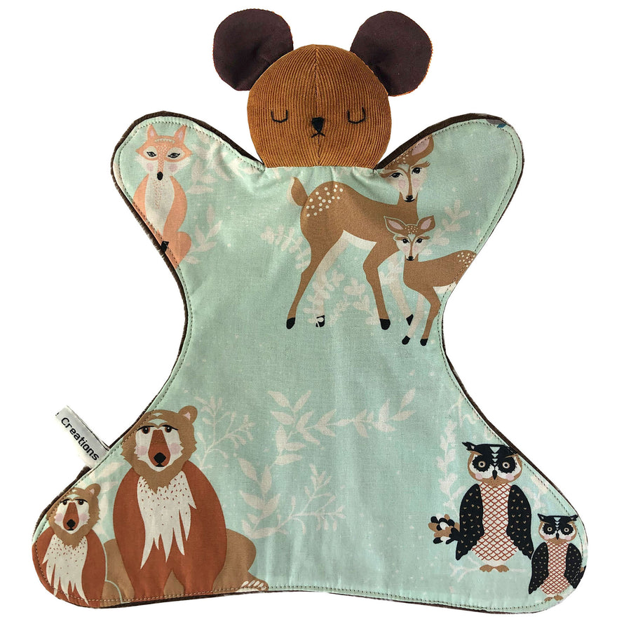 Animal Baby Lovey - Bear or Mouse - Clover Market
