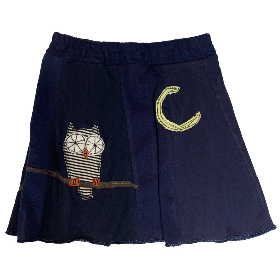 Kids Owl Under the Moon Skirt - Exclusive - Clover Market
