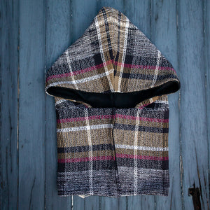 Janey Hooded Scarf - Greenwich
