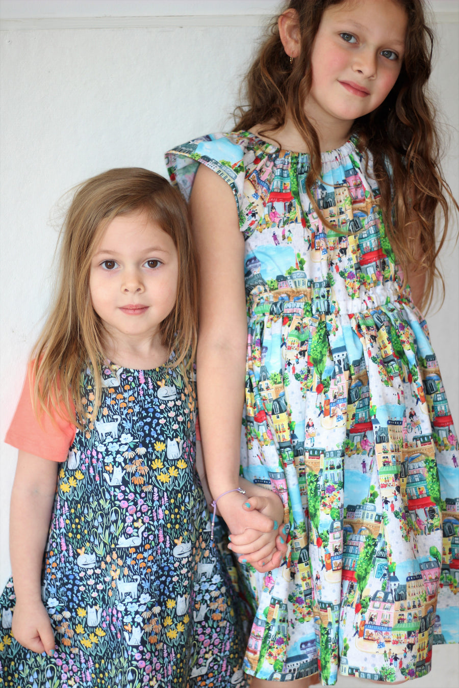 Kitty Garden Reversible Dress