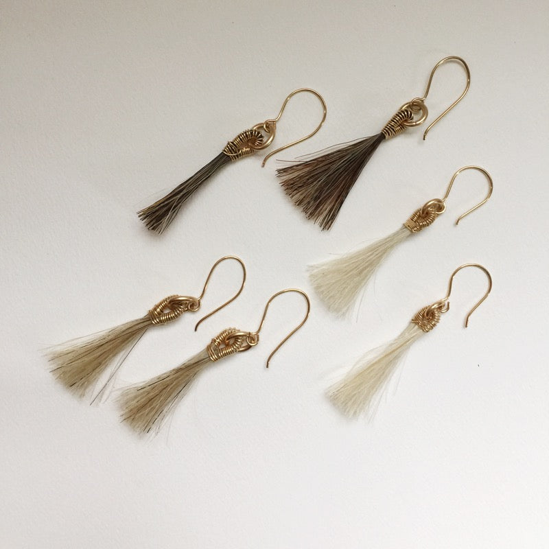 Pony Hair Earring- EXCLUSIVE