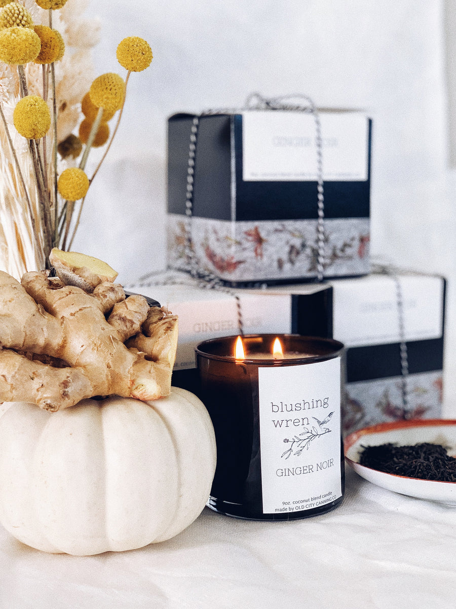 ginger noir candle