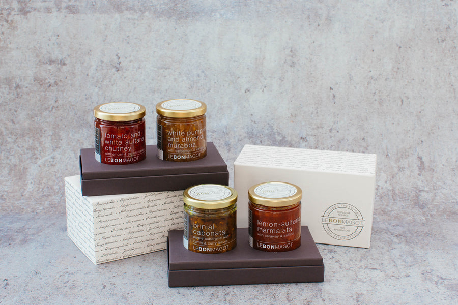SWEET N SPICY COLLECTION - Tomato Chutney & White Pumpkin Murabba Gift Set