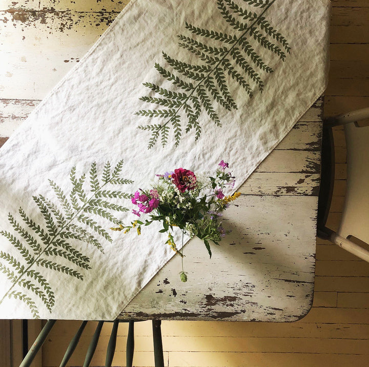 Fern Table Runner - Exclusive - Clover Market