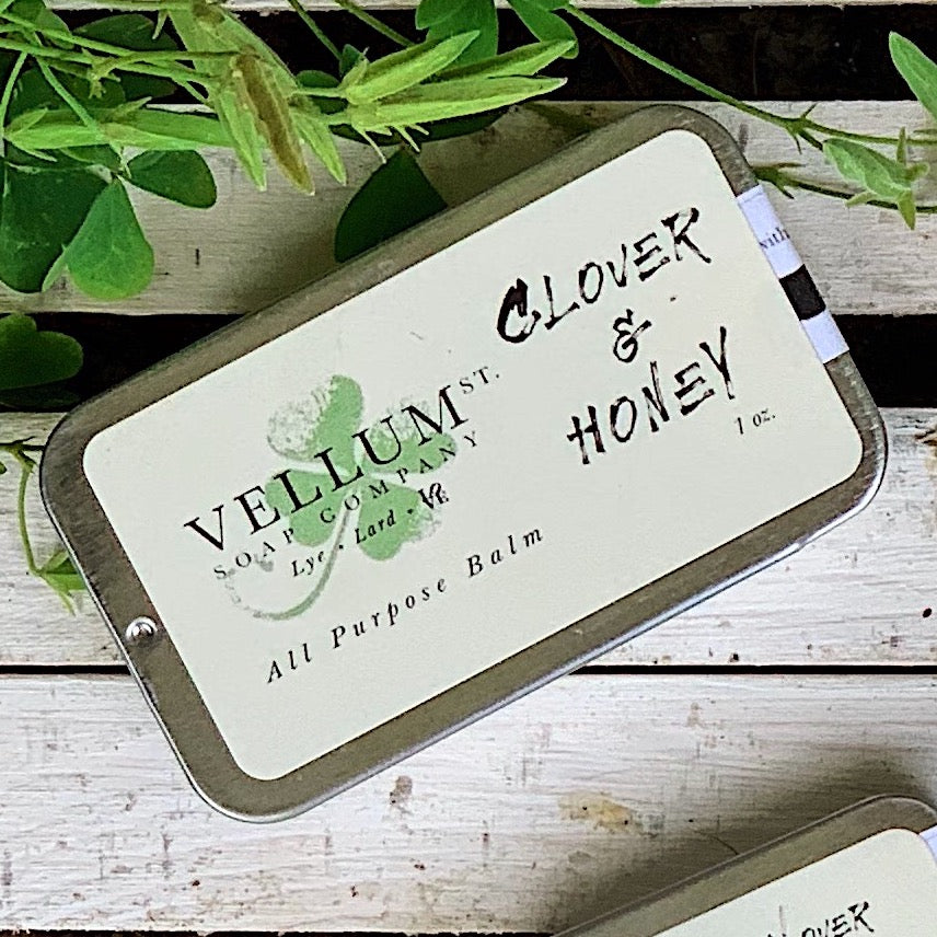 Clover & Honey Lip, Body, & Beard Balm - Exclusive - Clover Market