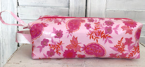 Pencil Case- Pink Paisley