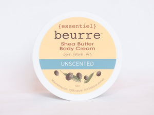 Shea Butter Body Cream - Unscented (4oz) - Exclusive