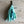 Load image into Gallery viewer, Torn Cotton Tassel Clips in shades of Blue & Green