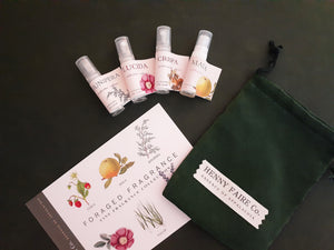Foraged Fragrances Discovery Set | Four Spray Samples (2 ml each)
