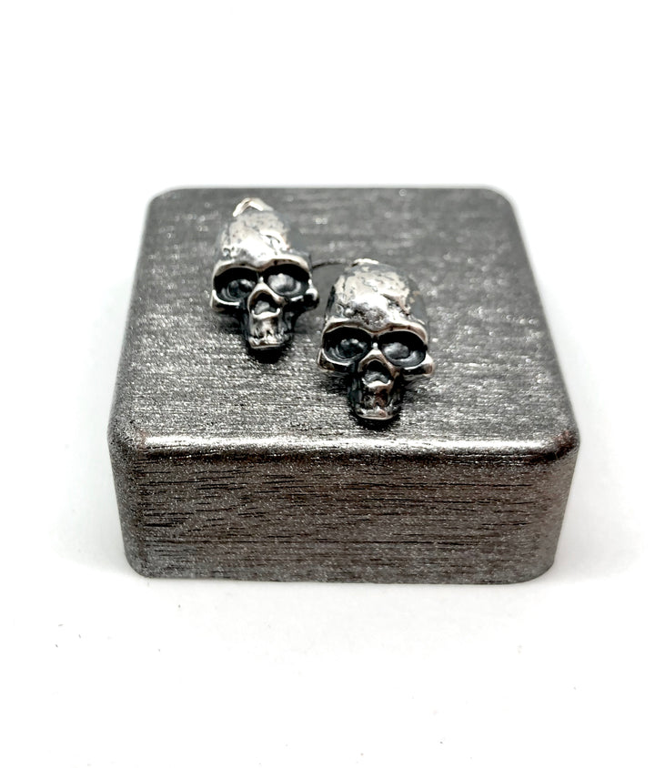 Sterling Skull Earrings - Exclusive - Clover Market