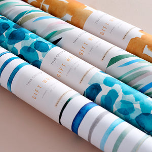 Holiday Colorful + Bright Gift Wrap