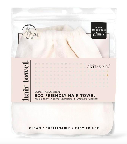 Eco Friendly Hair Towel - Verde
