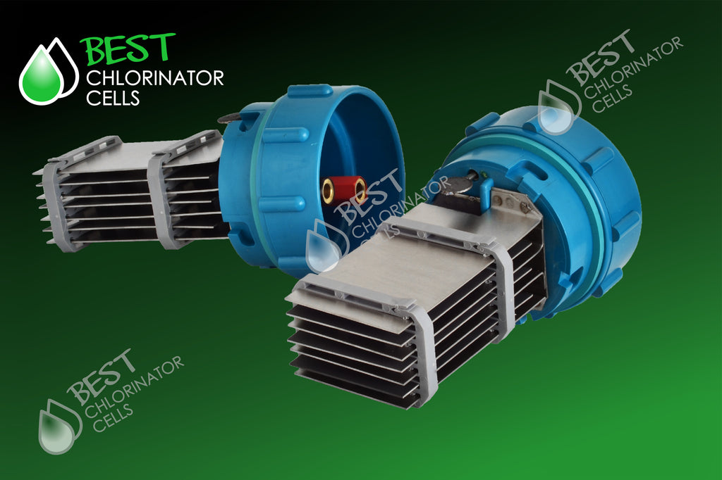 Clearwater B400 STD Cell - made up of 2xB140 Cells ( with 4 Anodes/cell) - 30g/hr