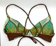 Load image into Gallery viewer, MATCHA CROSS-BACK REVERSIBLE BIKINI TOP