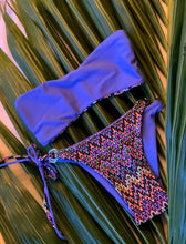 Load image into Gallery viewer, BLUE SAPPHIRE REVERSIBLE BRAZILIAN BOTTOM
