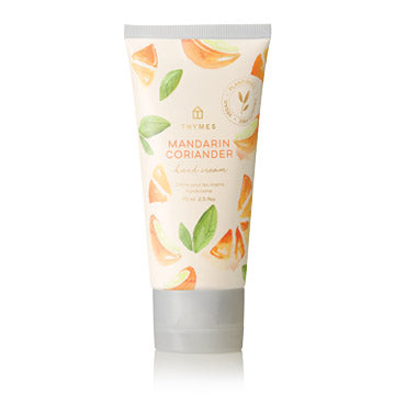 Thymes Mandarin Coriander Hard-Working Hand Cream