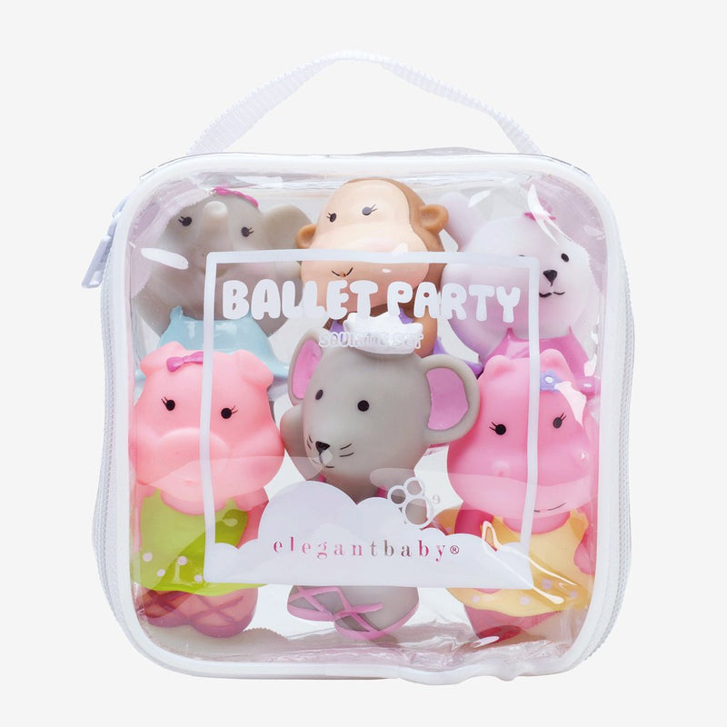 Squirtie Baby Bath Toys - Ballet Party