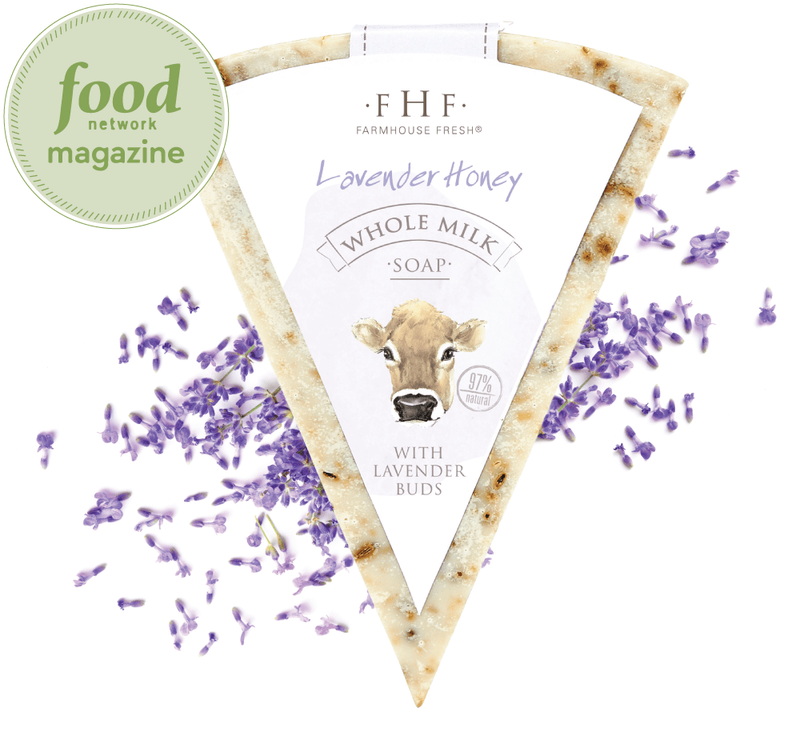 FarmHouse Fresh Lavender Honey Whole Milk Soap