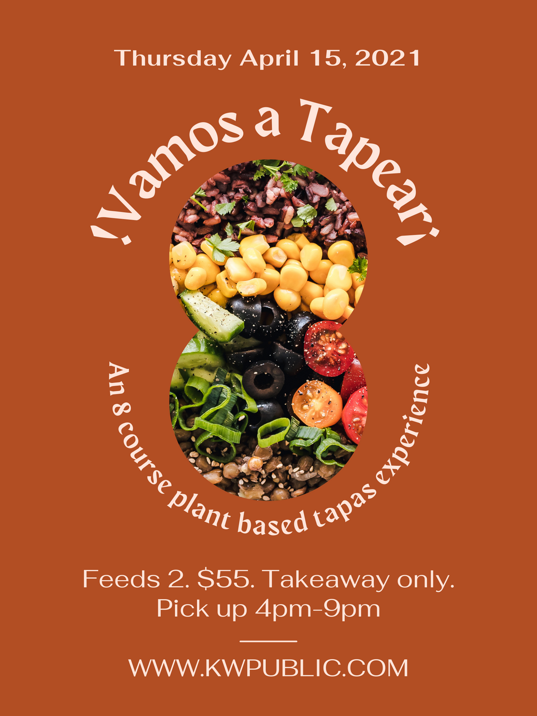 Thursday Plant Based Tapas Box for Two (April 15th)