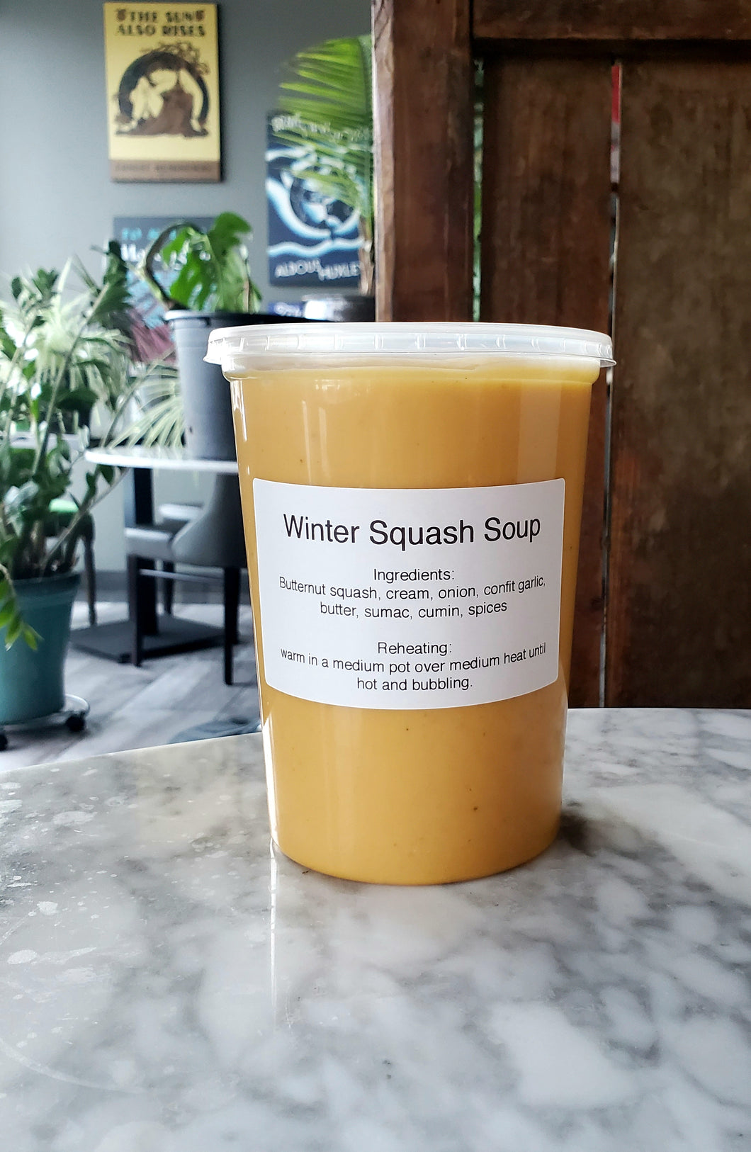 Take-Home Winter Squash Soup (1 L)