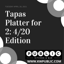Load image into Gallery viewer, Ry Guy's Tapas Platter For 2: 4/20 Edition