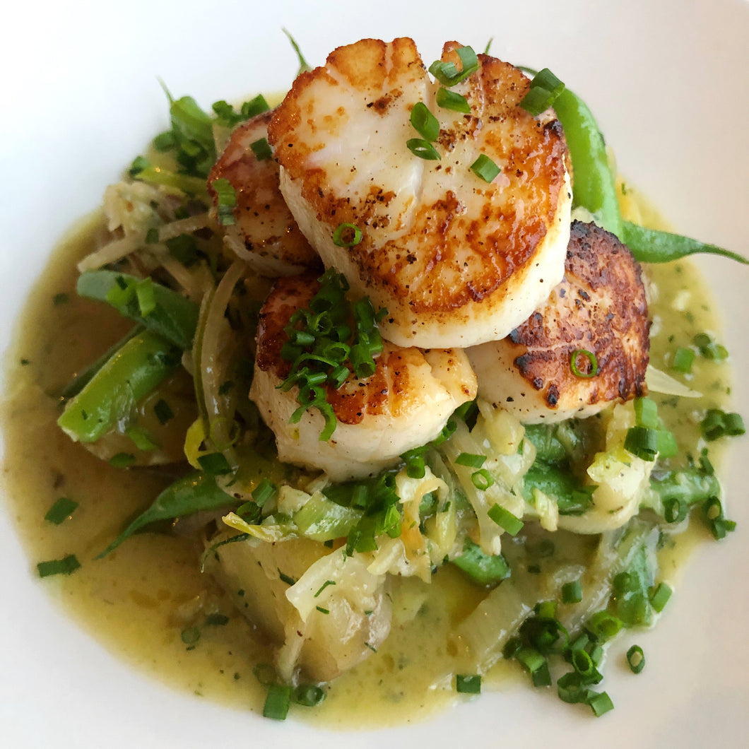 Seared Scallops (GF)