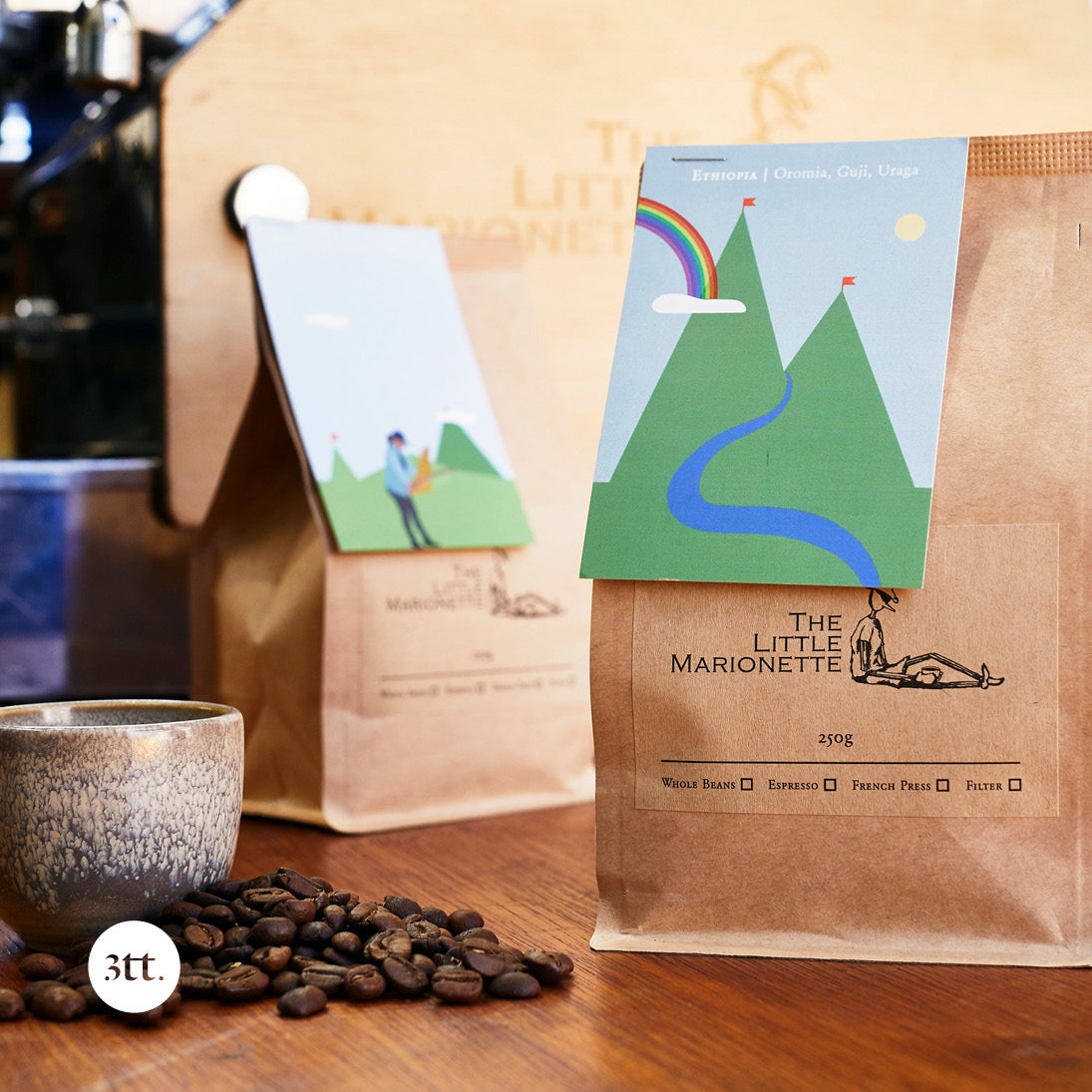 The Little Marionette Coffee Roasters - Pulling all the right strings