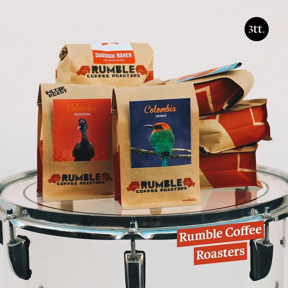 Rumble Coffee Roasters - When Transparency and Taste Collide