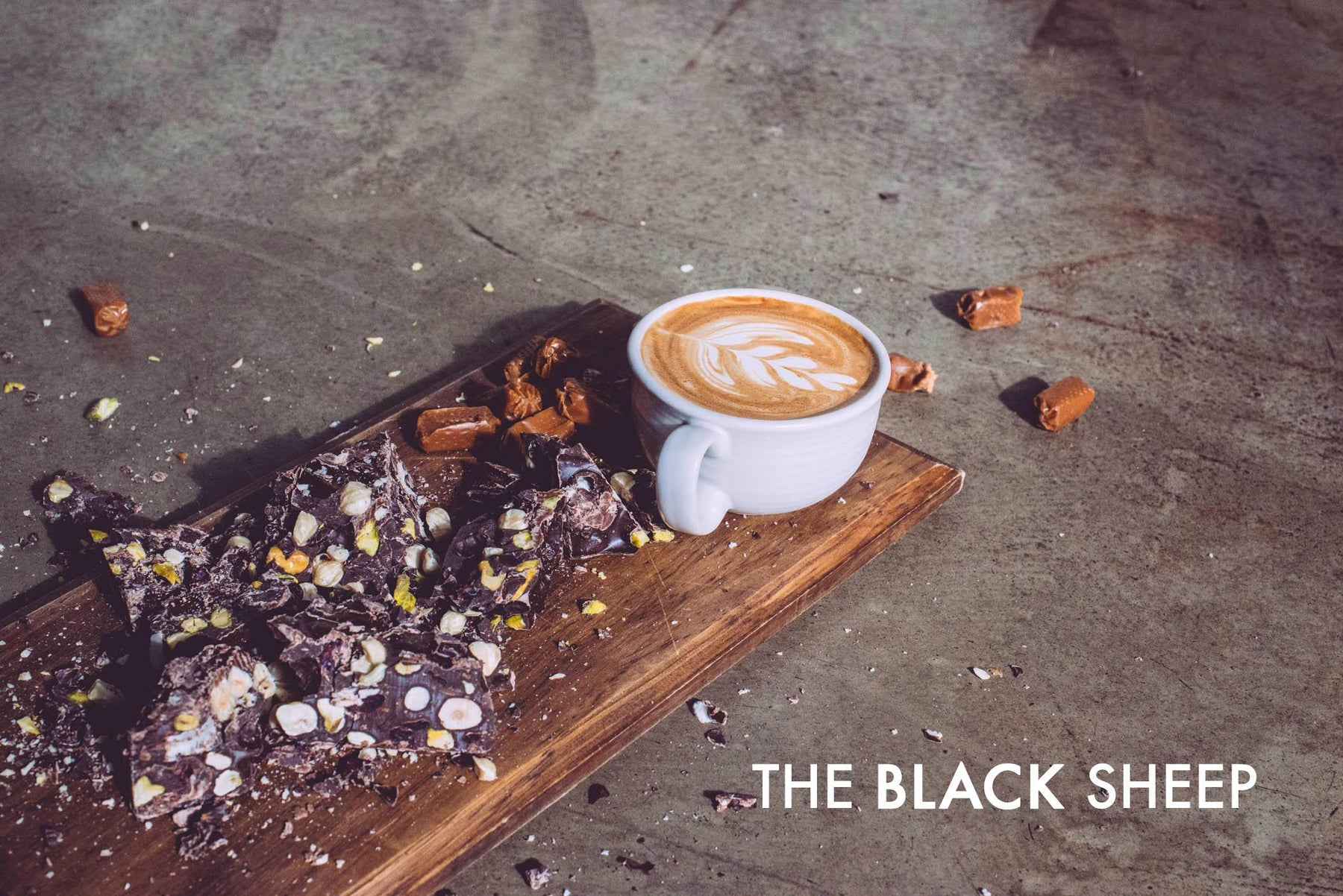 Black Sheep Blend, by Little Rebel Roasters for August 2014 - A little different from the others.
