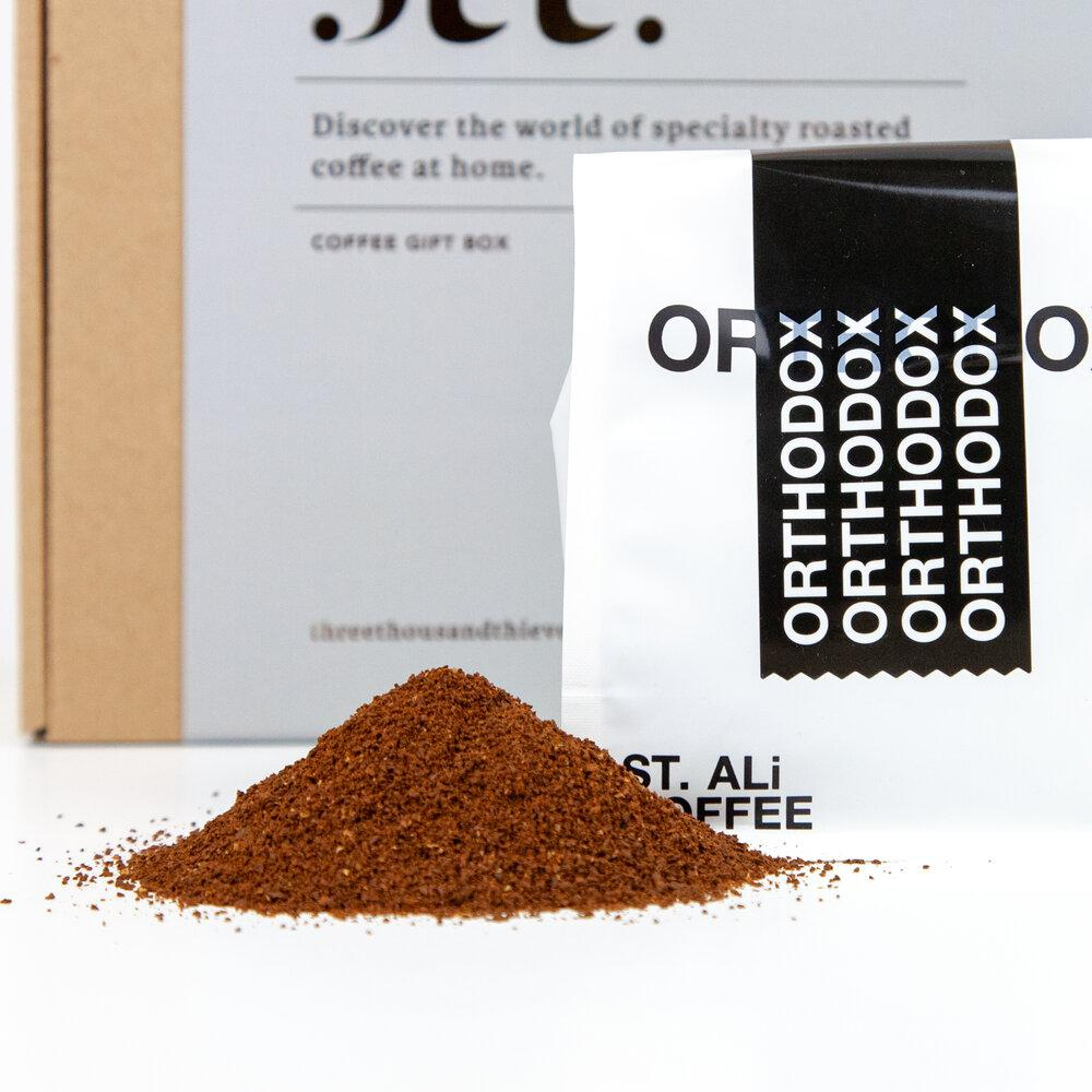 Espresso Ground Box