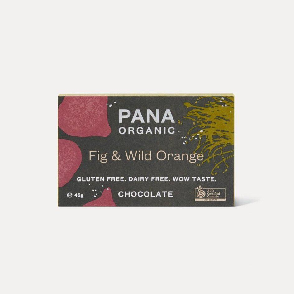 Pana Organic - Fig & Wild Orange 45g
