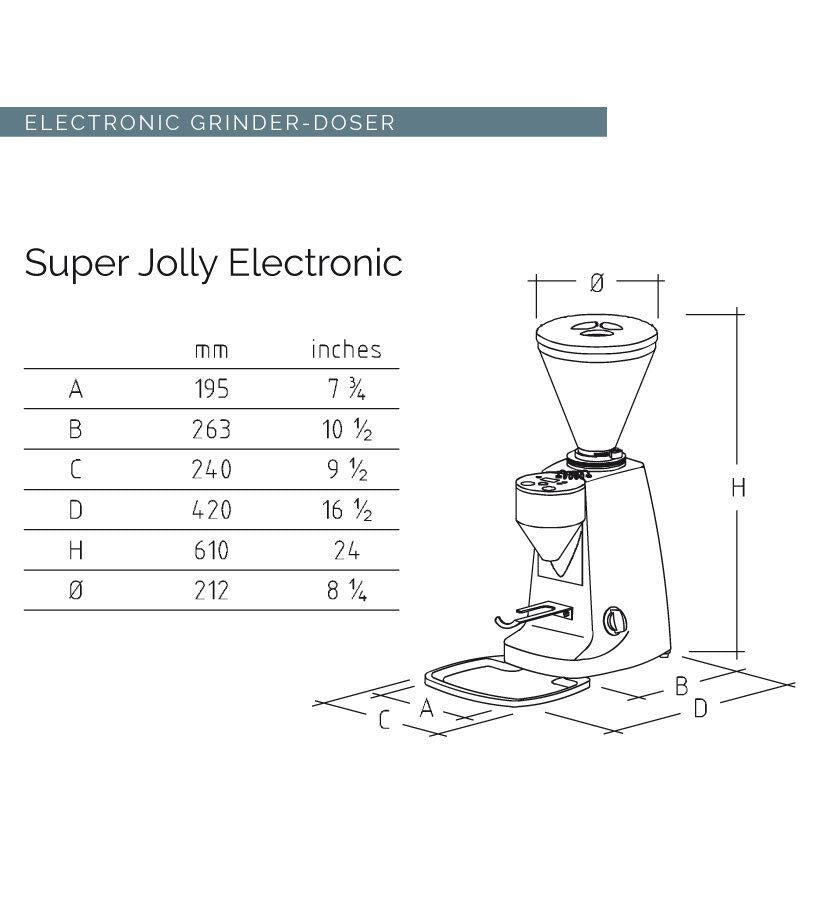 Mazzer - Super Jolly Electronic