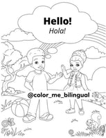 SPANISH EDITION: COLOR ME BILINGUAL