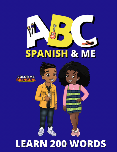 ABC SPANISH EDITION: COLOR ME BILINGUAL