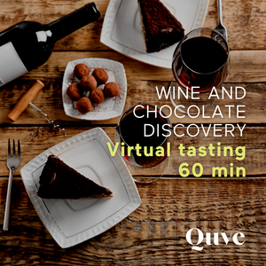 Wine and Chocolate Discovery Virtual Wine Tasting - 60 min