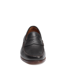 Load image into Gallery viewer, Men's Trask Sadler Loafers - Black Sheepskin