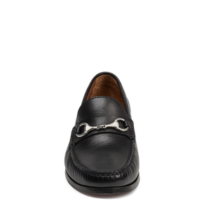 Men's Trask Seaton Loafer - Black Sheepskin