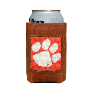 Smather's & Branson Clemson Can Cooler (Orange/White)