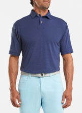 Load image into Gallery viewer, Peter Millar drirelease® Natural Touch Mélange Polo - Navy
