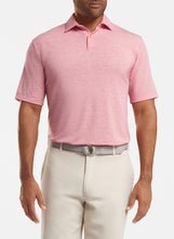 Load image into Gallery viewer, Peter Millar drirelease® Natural Touch Mélange Polo - Red Ginger