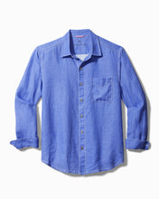 Load image into Gallery viewer, Tommy Bahama Sea Glass Breezer Linen Shirt