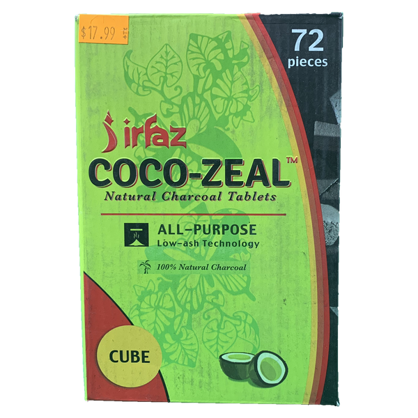 Cocozeal Natural Charcoal Tablets