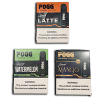 FOGG Disposable 5% Nicotine (3 Pack)